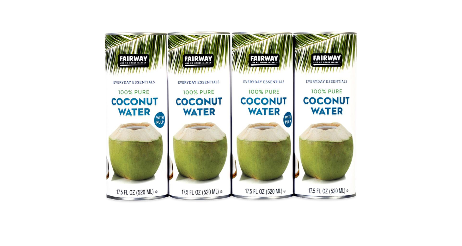 fairway coconut water Uber wide slideshow