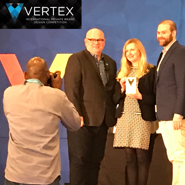 Fairway Organic Grains Win Vertex Award